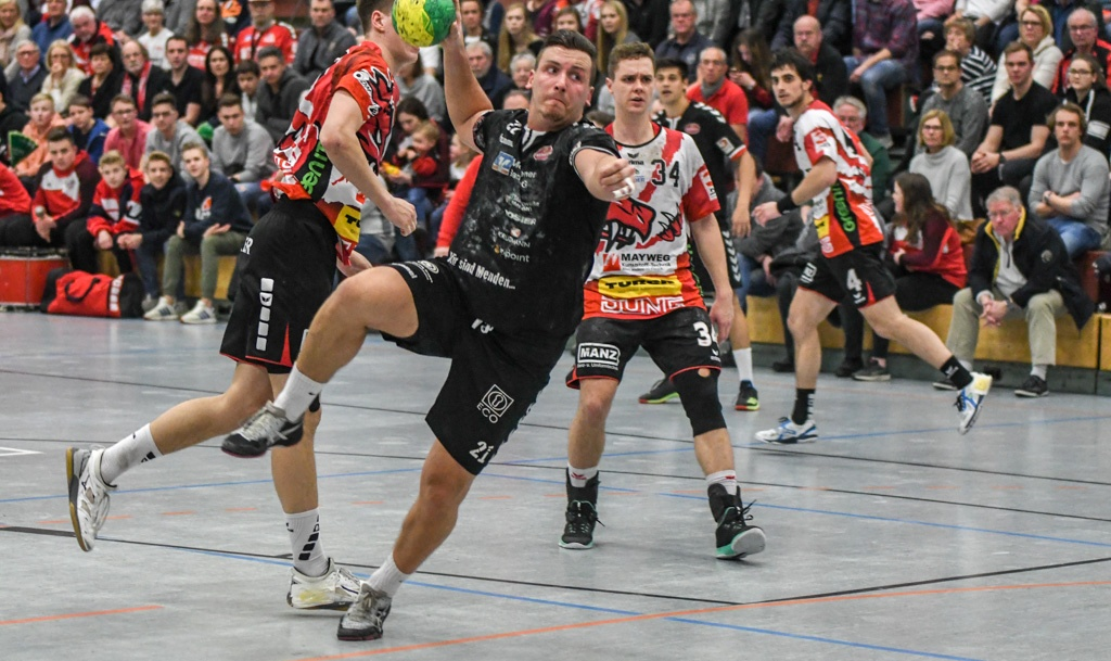Handball 3. Liga SG Wölfe vs. SGSH Dragons